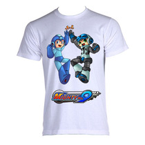Camiseta Megaman Rock Man X 013