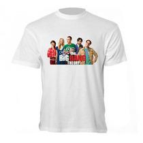 Camiseta The Big Bang Theory - Camisa Sheldon,bazinga,penny