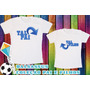 Kit Camisetas Blusas Camisa Pai E Filho Ou Filha Dalsassu´s