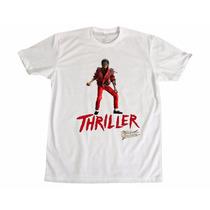 Camisetas Anos 80 Retrô Michael Jackson Thriller C