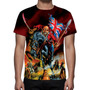 Camisa, Camiseta Iron Maiden Mod 02 - Estampa Total