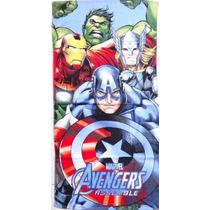 Toalha Hulk Thor Capitao America Iron Man Homem De Ferro