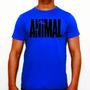 Camiseta Animal - Azul - Musculação - Fitness - Maromba