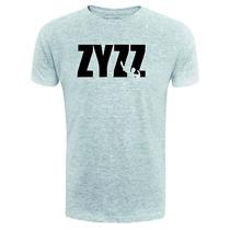 Camiseta Zyzz - Cinza - Musculação - Maromba - Fitness