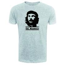 Camiseta Che Madruga - Rosto Exclusiva - Cinza - Chaves