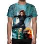 Camisa, Camiseta Os Vingadores Viúva Negra - Estampa Total