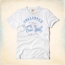 Camisetas Masculinas 100% Originais Hollister Importadas Eua