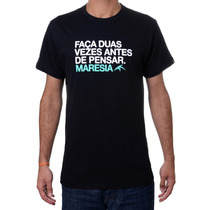 Camiseta Maresia Classic -surf-skate Em 12 Vs S/juros