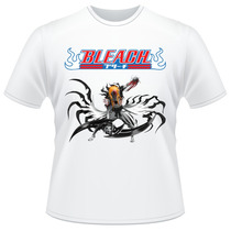 Camiseta Bleach Anime Ichigo Kurosaki Verso Camisa #02