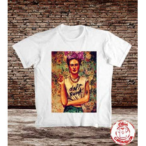Camiseta Frida Kahlo - Sublimação - Não Desbota - Não Apaga