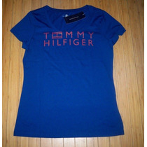 Blusa Básica Tommy Hilfiger: Tamanho M Feminina Nova
