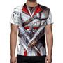 Camisa, Camiseta Uniforme Assassins Creed Ezio Auditore