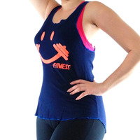 Kit C/ 5 Regata Camiseta Feminina Fitness Academia Ginástica