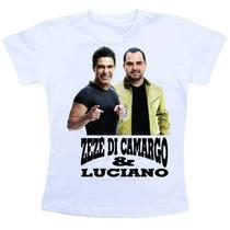 Camiseta Baby Look Feminina - Zeze Di Camargo E Luciano 2