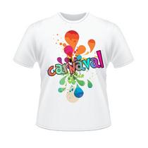 Kit 10 Camisetas Para O Carnaval Personalizadas