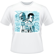 Camiseta Breaking Bad Walter White Jesse Pinkman Camisa