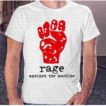 Presente Natal Camiseta Masculina Rage Against The Machine
