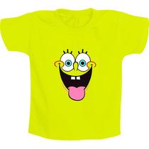 Camiseta Infantil Personagens - Bob Esponja