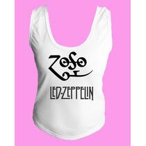 Camiseta Regata Nadador Lez Zepellin Classic Hard Rock 3
