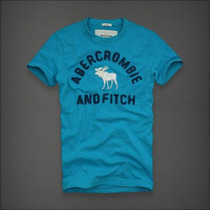 Kit 5 Camisetas Abercrombie & Fitch, Hollister, Camisas Polo
