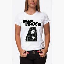 Camiseta Demi Lovato - Baby Look Feminina