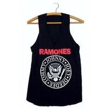 Regata Ramones Moda Casual Camiseta Feminina