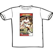 Camiseta Personalizada Raí São Paulo Futebol Clube Spfc