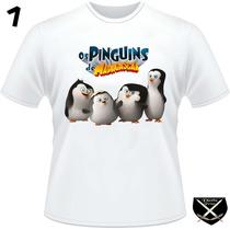 Camisetas Pinguins De Madagascar
