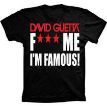 Camiseta Dj David Guetta,i