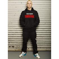 Blusa Eminem - Survival Moletom Canguru!!