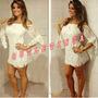 Vestido Renda Gipsy Festa Balada Panicat Importada No Brasil