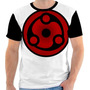 Camiseta - Camisa Naruto Eternal Mangekyo Sharingan Madara