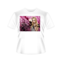Camiseta Avril Lavigne Tradicional Ou Babylook