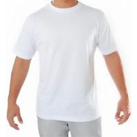 Camiseta 100% Algodão Fio 30.1 Penteado