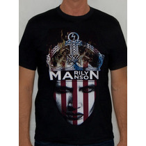 Camiseta Marilyn Manson - Flag