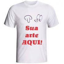 Camiseta Personalizada Com Sua Foto Imagem Ou Logo Envio 24h