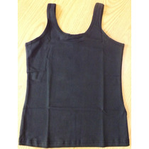Camiseta Regata Feminina Básica Algodão/elastano