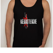 Camiseta Regata Banda Rage Against The Machine