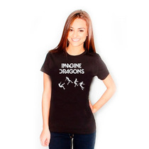 Camiseta Imagine Dragons - A Melhor Qualidade Do Mercado!