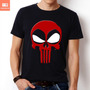 Camisetas Tv E Herois Hq Deadpool Dead Pool Punisher Marvel