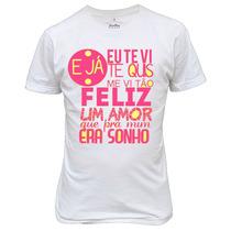 Camiseta Jorge E Mateus Personalizada
