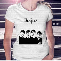 Camiseta Mais Barata Do Ml Feminina Banda Beatles