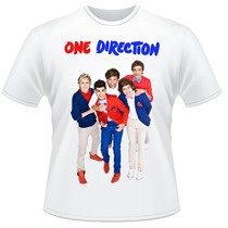 Camiseta One Direction 1d Pop Rock Frente Verso Camisa #3