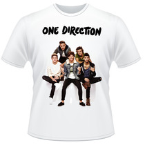 Camiseta One Direction 1d Pop Rock Frente Verso Camisa #2
