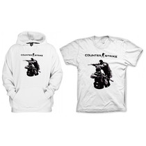 Combo Blusa Com Camiseta Counter Strike