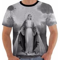 Camisa Camiseta Baby Look Regata Nossa Senhora Das Graças Pb
