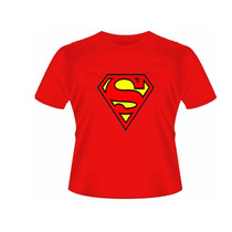 Camiseta Baby Look Simbolo Superman- Feminino