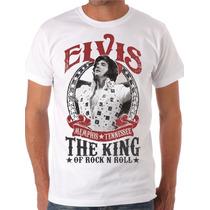 Camiseta Elvis Presley King Of Rock