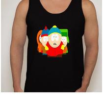 Camiseta Regata Desenho South Park