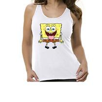 Camiseta Regata Desenho Bob Esponja
